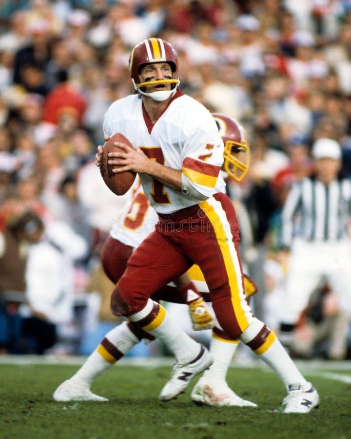 Joe Theismann, Washington Redskins fotografia de stock royalty free