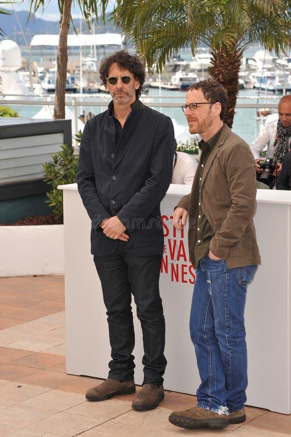 Joel Coen & Ethan Coen stock afbeelding