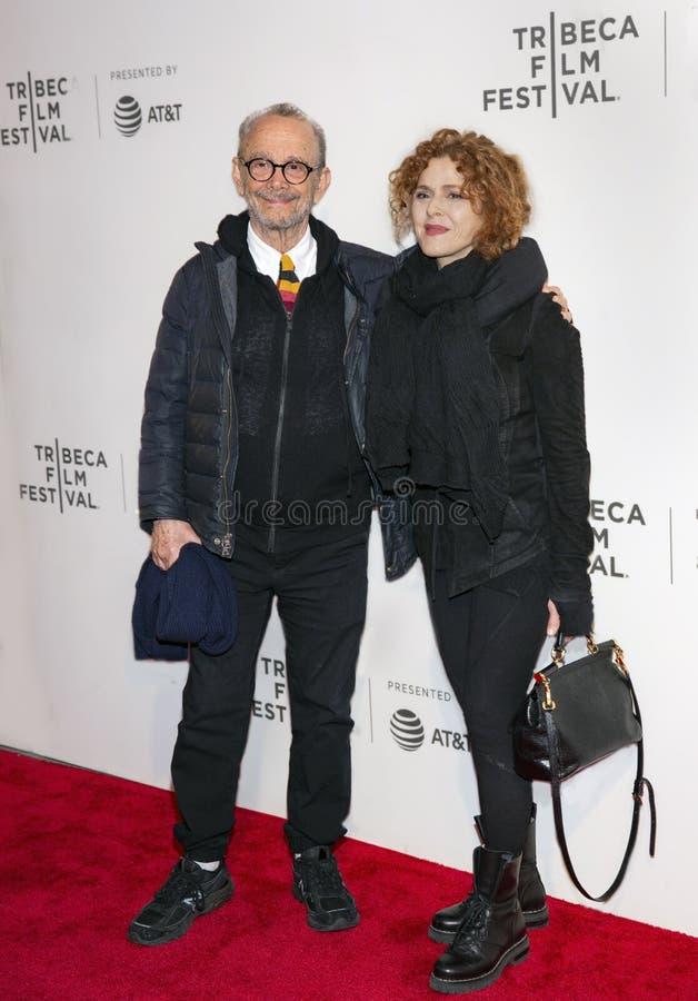 Joel Grey & Bernadette Peters al prima ?di prende un folle ?al festival cinematografico 2019 di Tribeca immagini stock libere da diritti