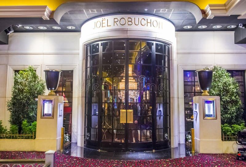 Joel Robuchon-restaurant royalty-vrije stock foto