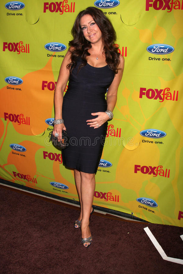 Joely Fisher. Arriving at the FOX-Fall Eco-Casino Party at BOA Steakhouse in West Los Angeles, CA on September 14, 2009 royalty free stock image