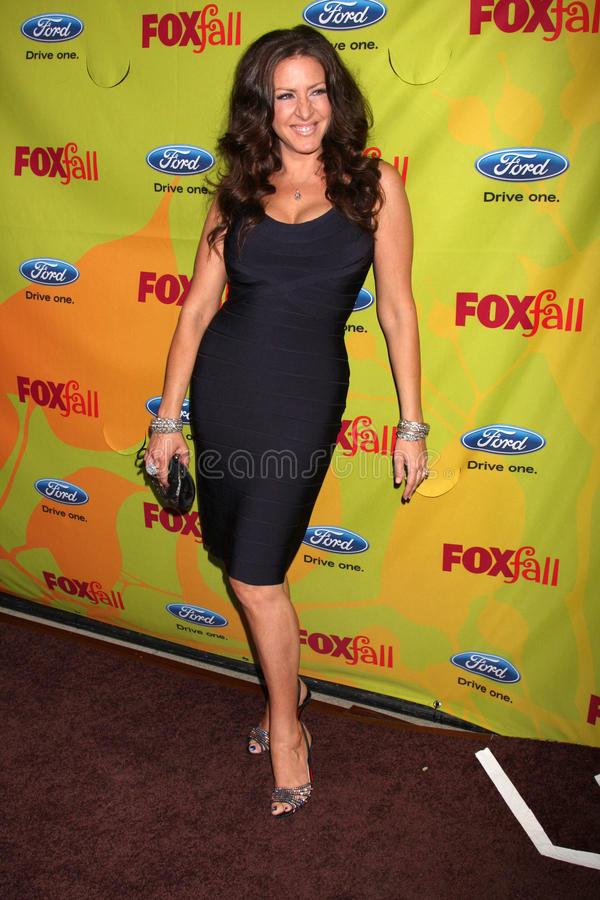 Joely Fisher. Arriving at the FOX-Fall Eco-Casino Party at BOA Steakhouse in West Los Angeles, CA on September 14, 2009 stock photos