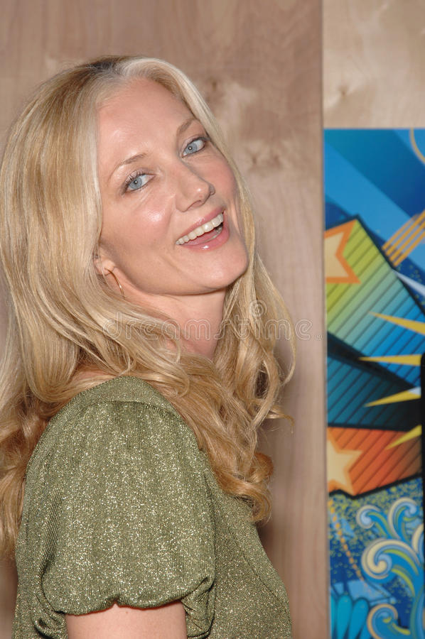 Joely Richardson stock afbeelding