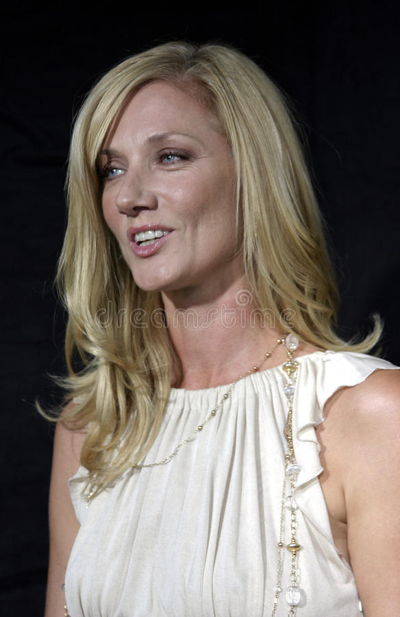 Joely Richardson. HOLLYWOOD, CALIFORNIA. September 10, 2005. Joely Richardson at the FX Networks NIP/TUCK 3rd Season Premiere Screening at the El Capitan Theatre stock photography