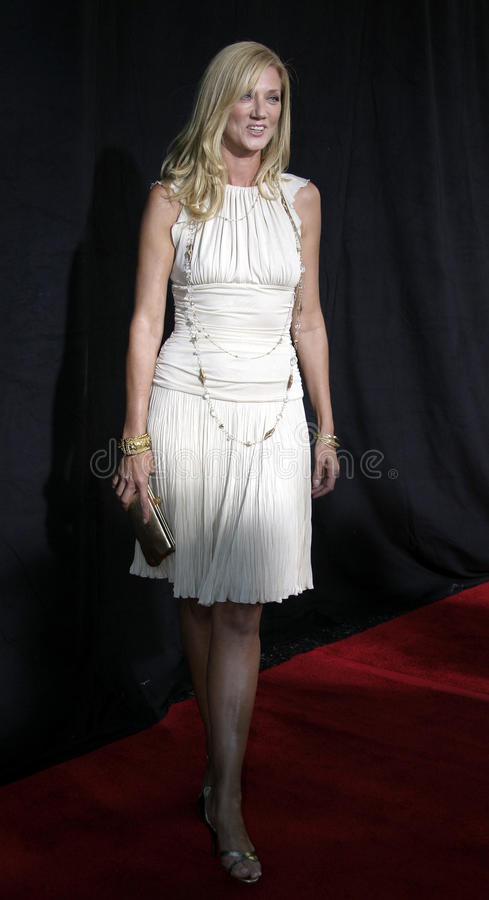 Joely Richardson. HOLLYWOOD, CALIFORNIA. September 10, 2005. Joely Richardson at the FX Networks NIP/TUCK 3rd Season Premiere Screening at the El Capitan Theatre stock photo