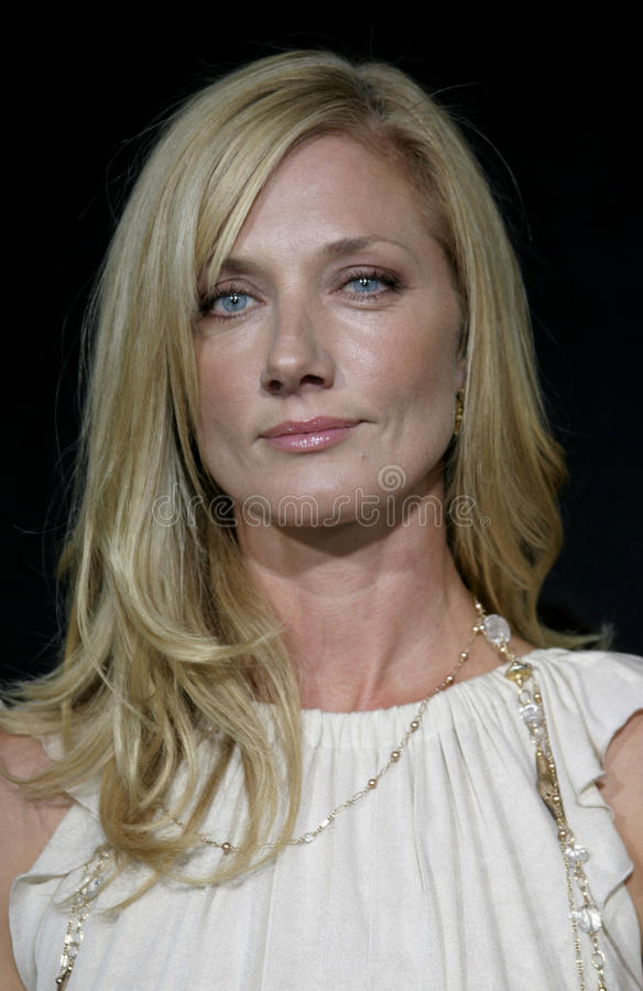 Joely Richardson. HOLLYWOOD, CALIFORNIA. September 10, 2005. Joely Richardson at the FX Networks NIP/TUCK 3rd Season Premiere Screening at the El Capitan Theatre royalty free stock photography