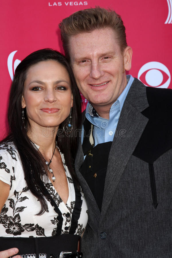 Joey & Rory. Arriving at the 44th Academy of Country Music Awards at the MGM Grand Arena in Las Vegas, NV on April 5, 2009 stock images