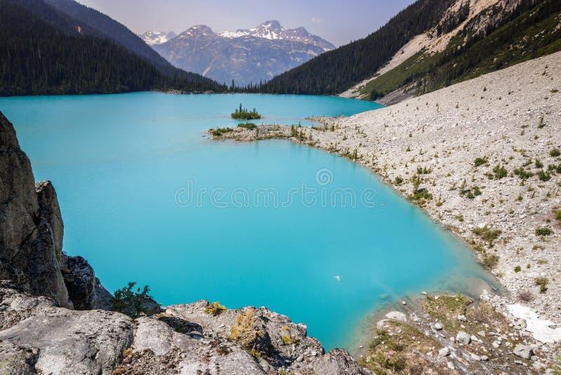 Joffre Lake royaltyfri bild