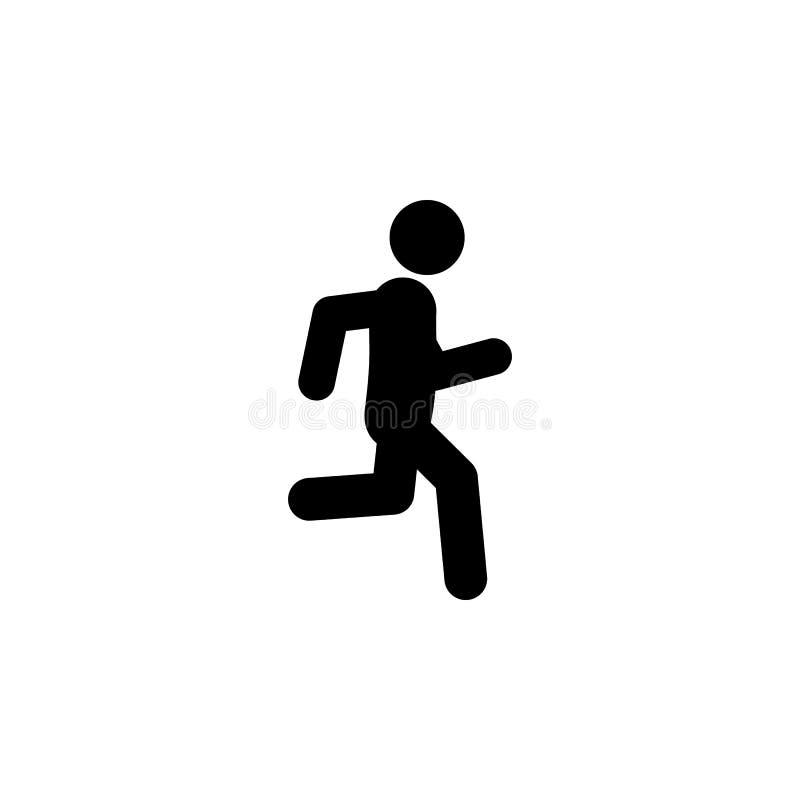 jog, bieg ikona Element odprowadzenia, bieg ikony dla mobilnych apps ludzie i Szczegółowy jog, bieg ikona może używać dla ilustracji