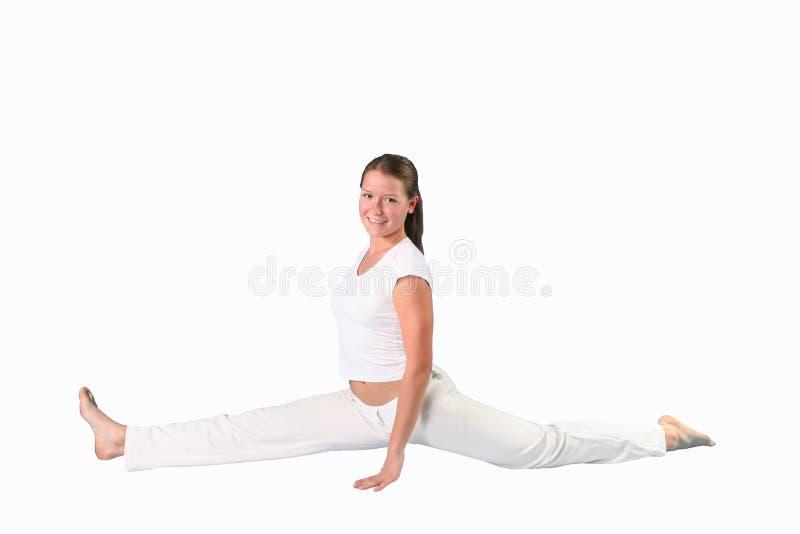 joga dziewczyny zdjęcie stock