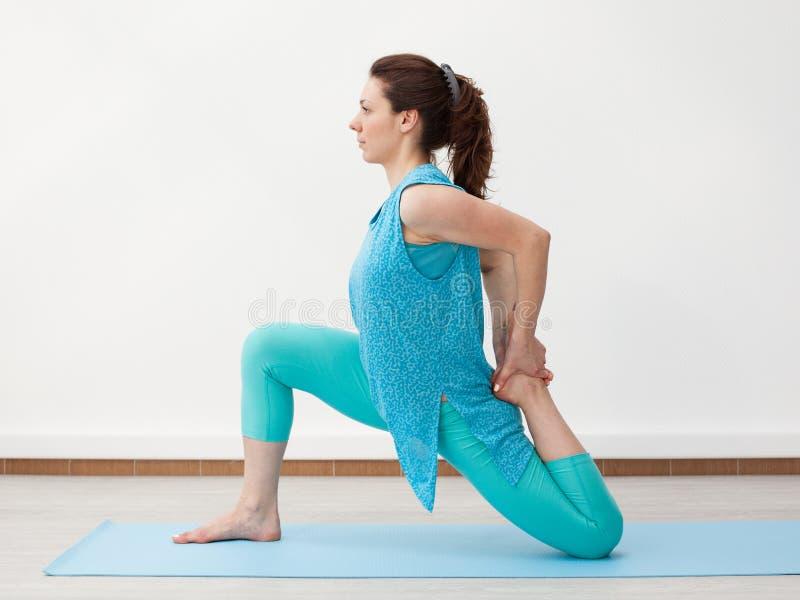 joga przydatność stretching fotografia stock