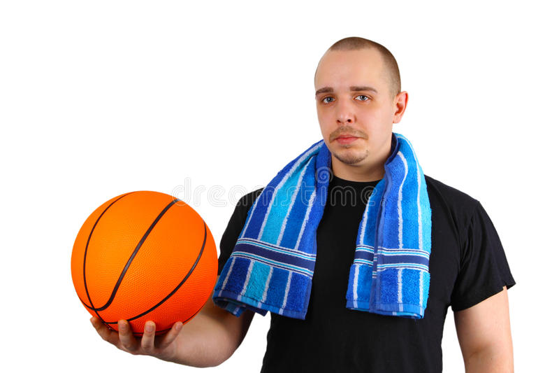 Jogador de basquetebol fotos de stock