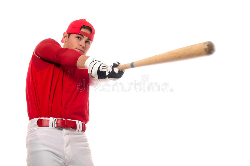 Jogador de beisebol foto de stock