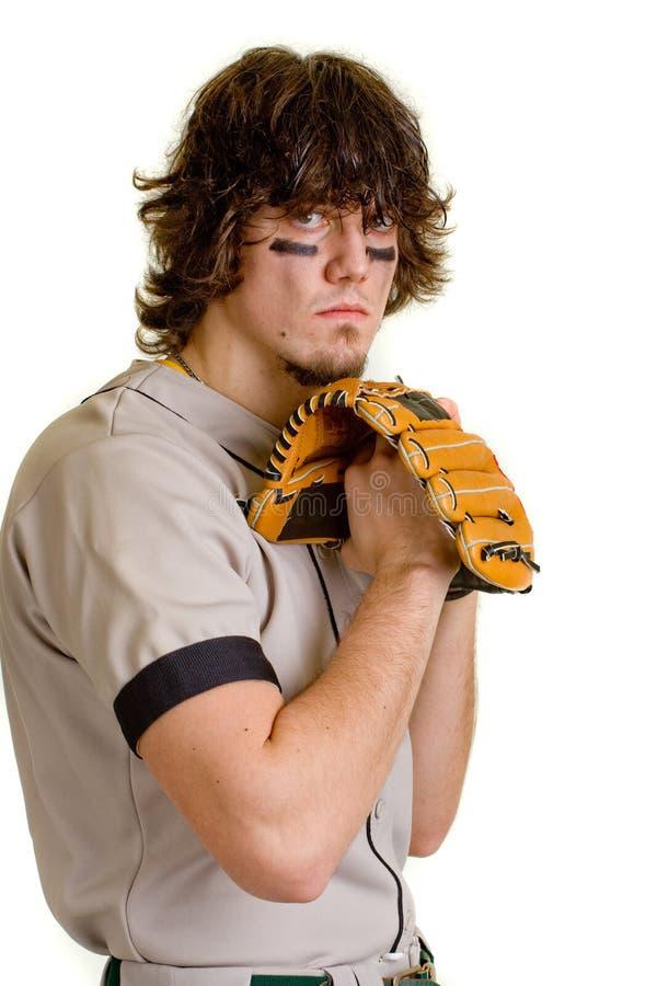 Jogador de beisebol imagem de stock