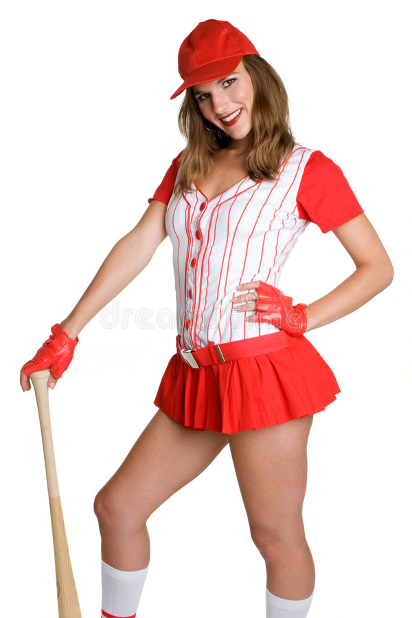 Jogador de beisebol 'sexy' imagem de stock