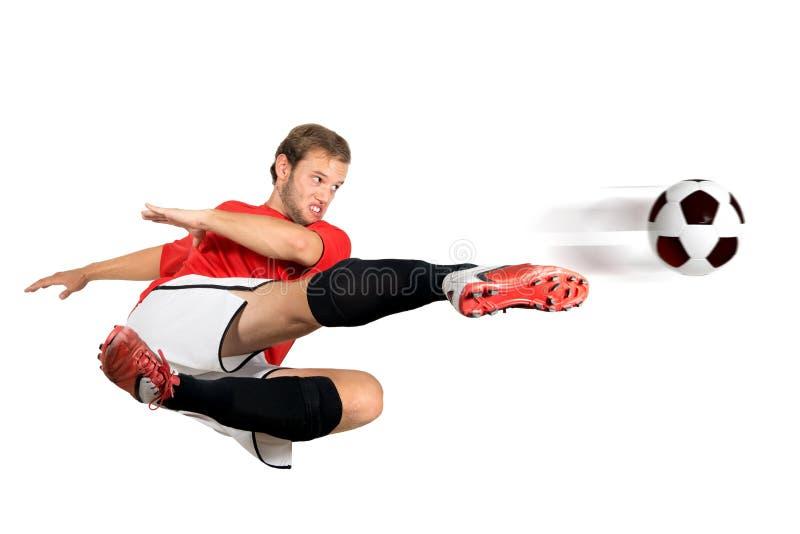 Jogador de futebol fotos de stock