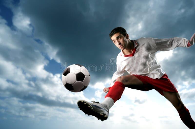 Jogador de futebol fotos de stock royalty free