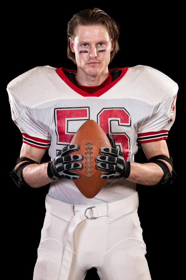 Jogador de futebol americano fotos de stock royalty free