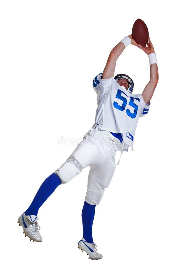 Jogador de futebol americano cortado foto de stock royalty free