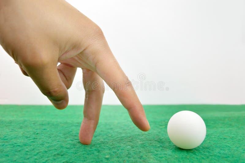 Jogador de futebol da mão imagens de stock