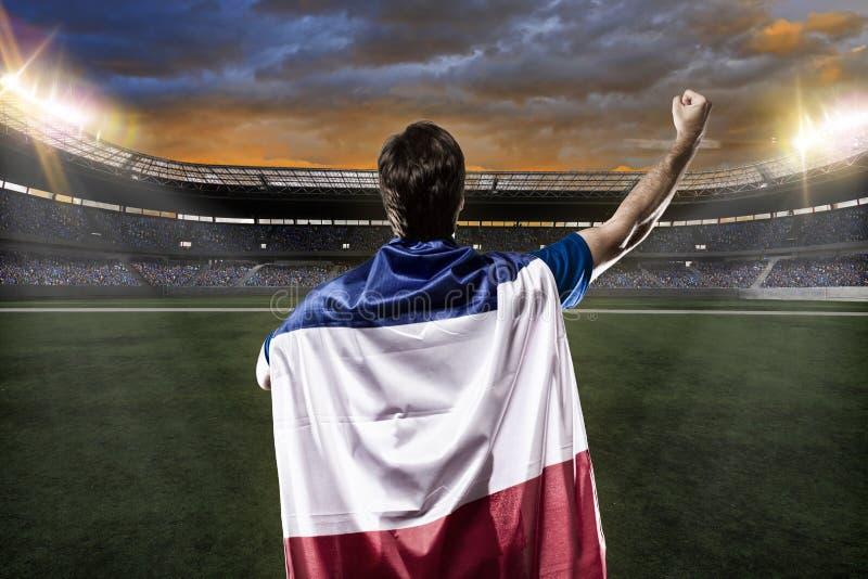 Jogador de futebol francês fotos de stock royalty free
