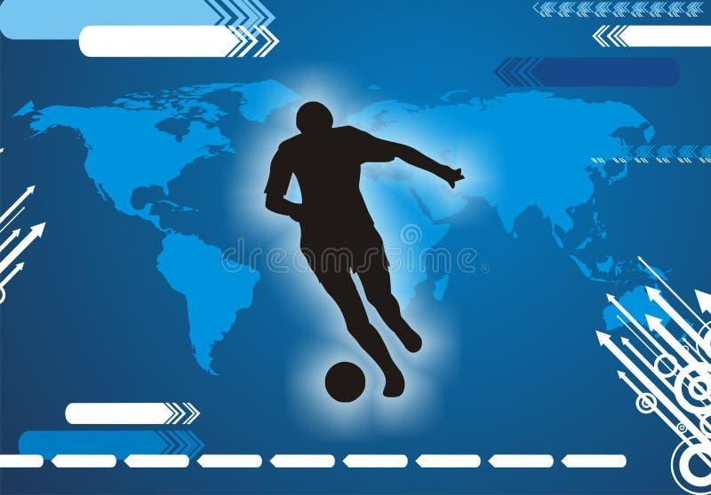 Download Jogador De Futebol Internacional Ilustração do Vetor - Ilustração de projeto, arte: 16873500