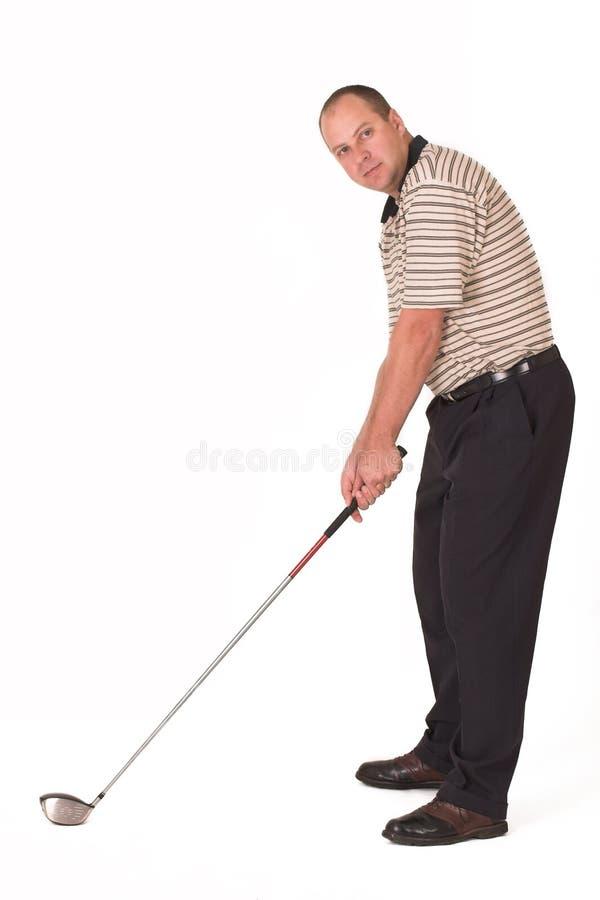 Jogador de golfe #3 foto de stock