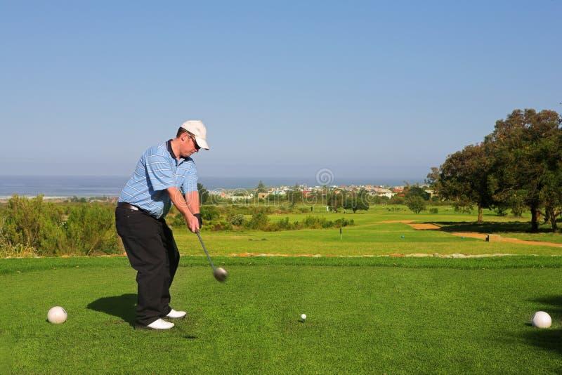 Jogador de golfe #64 fotografia de stock royalty free