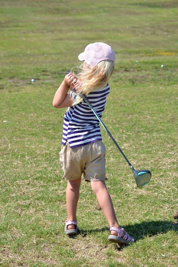 Jogador de golfe pequeno imagem de stock royalty free