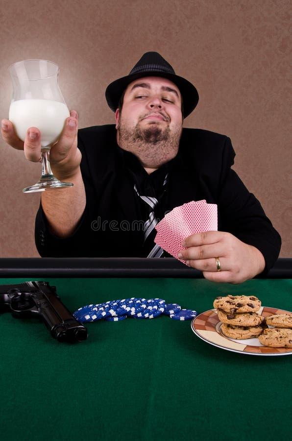 Jogador de póquer fotografia de stock royalty free