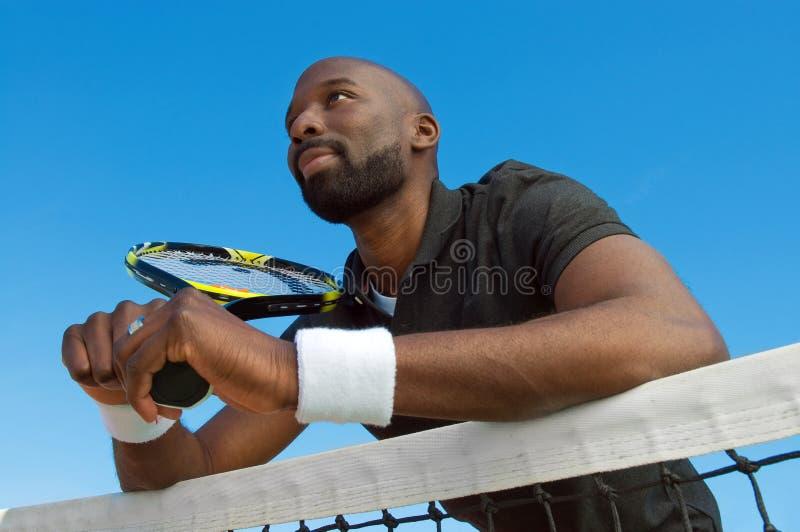 Jogador de ténis foto de stock