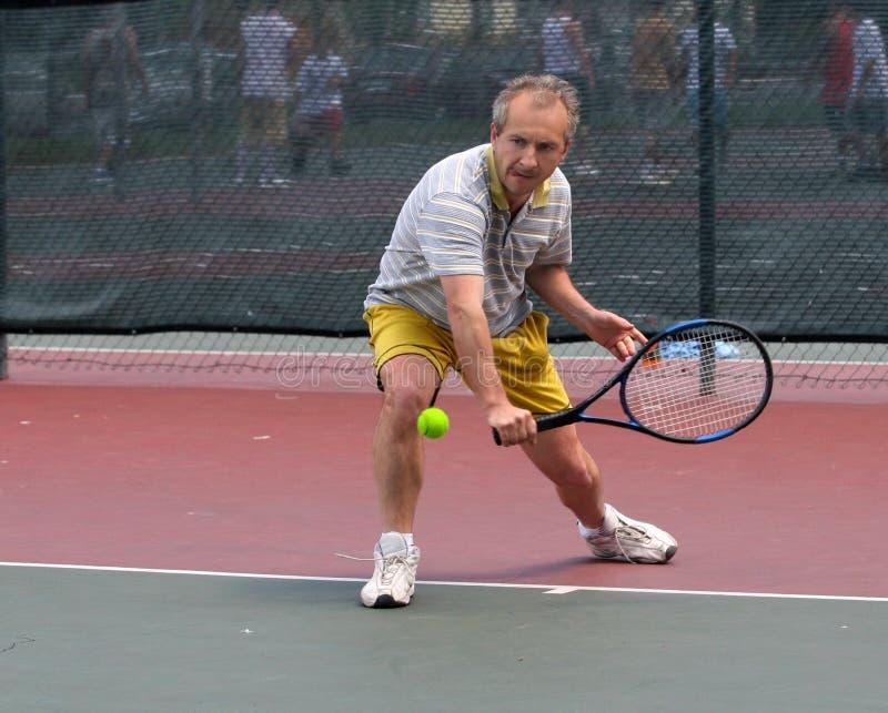 Jogador de ténis foto de stock royalty free