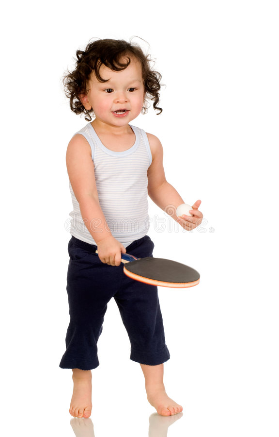 Jogador de ténis. imagem de stock royalty free