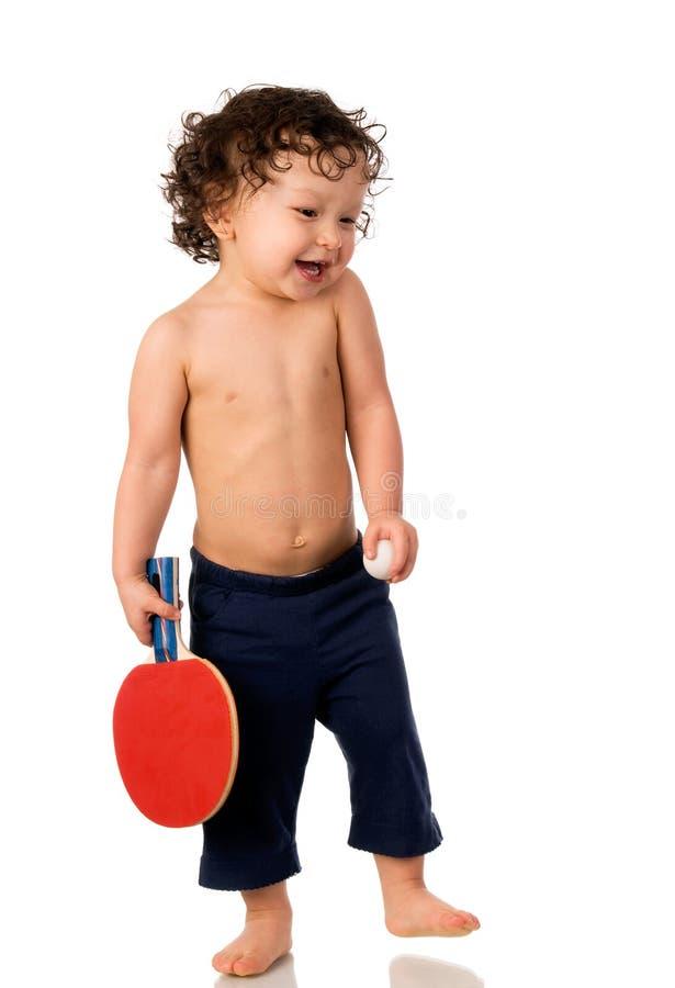 Jogador de ténis. fotografia de stock royalty free
