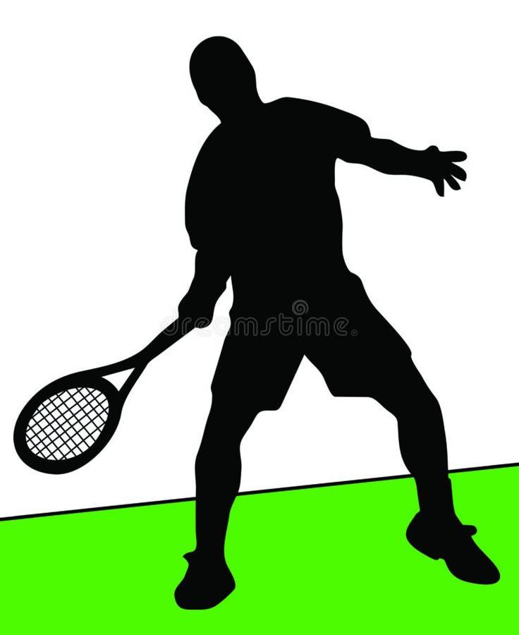 Download Jogador de ténis ilustração stock. Ilustração de divertimento - 541496