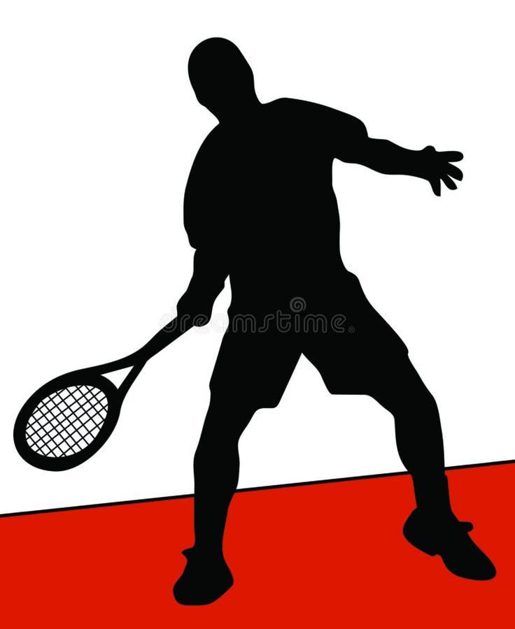 Download Jogador de ténis ilustração stock. Ilustração de rede, pessoa - 541497