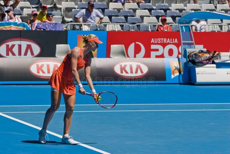 Jogador de ténis Elena Dementieva do russo fotografia de stock royalty free