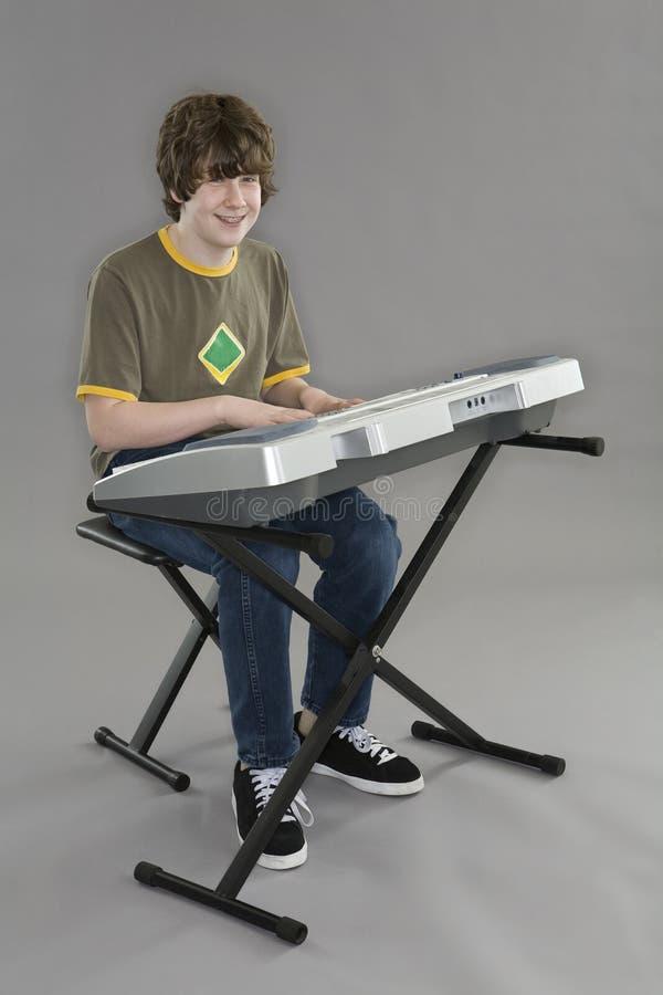 Jogador de teclado fotos de stock royalty free