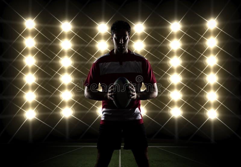 Jogador do rugby imagens de stock