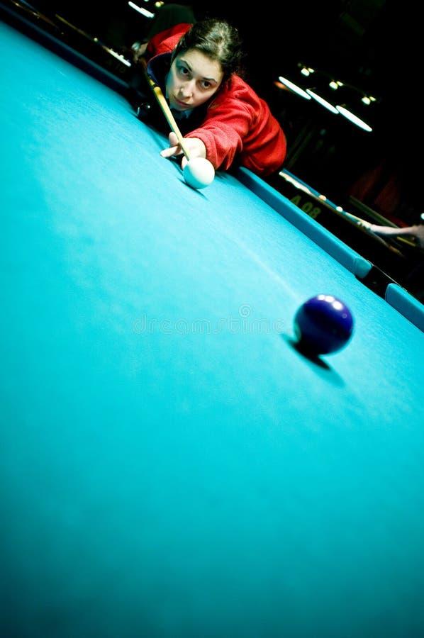 Jogador do Snooker foto de stock royalty free