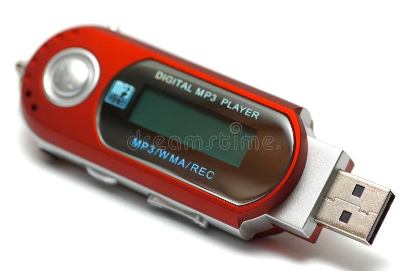 Jogador MP3 fotografia de stock