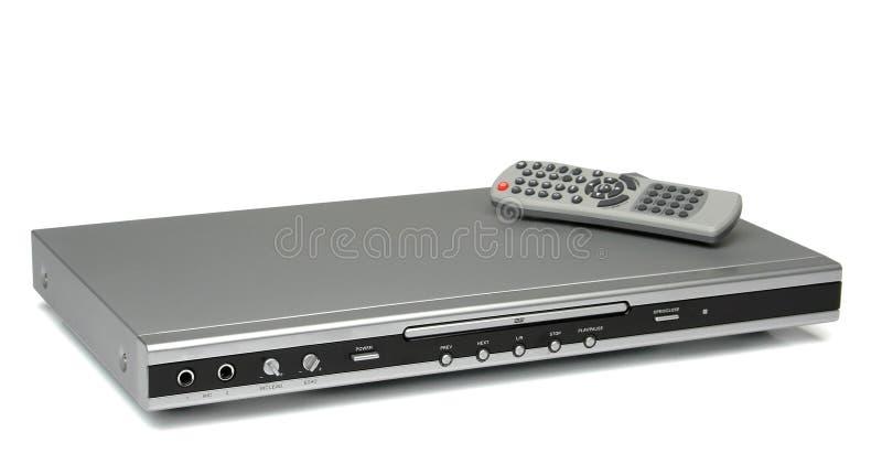 Jogador mp3 cd de Dvd com de controle remoto imagem de stock