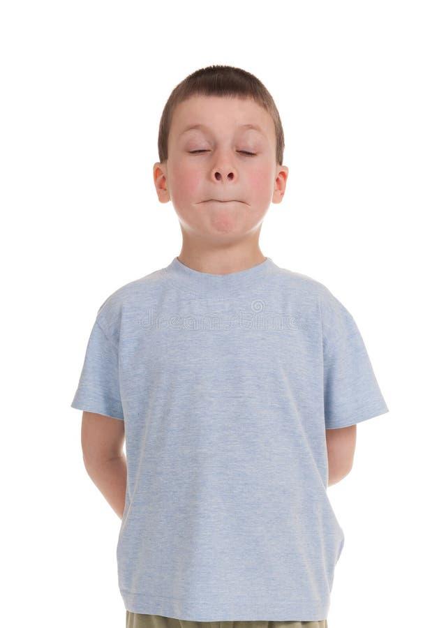 Download Jogando o menino no branco imagem de stock. Imagem de braços - 29827849