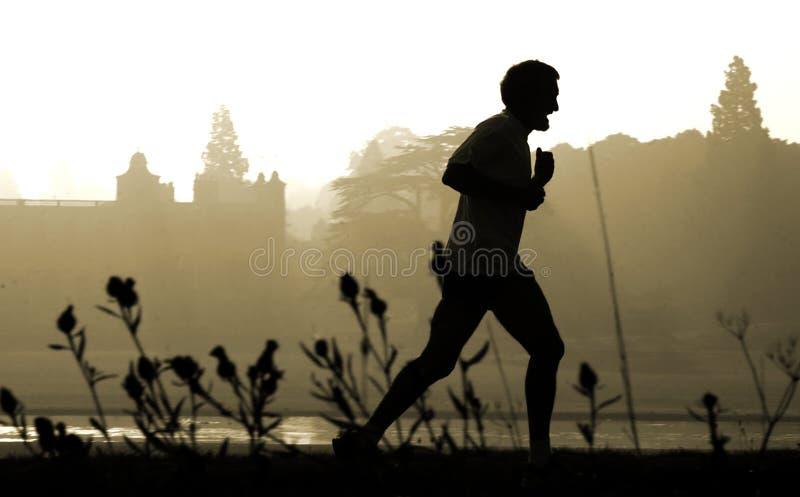jogger στοκ εικόνα