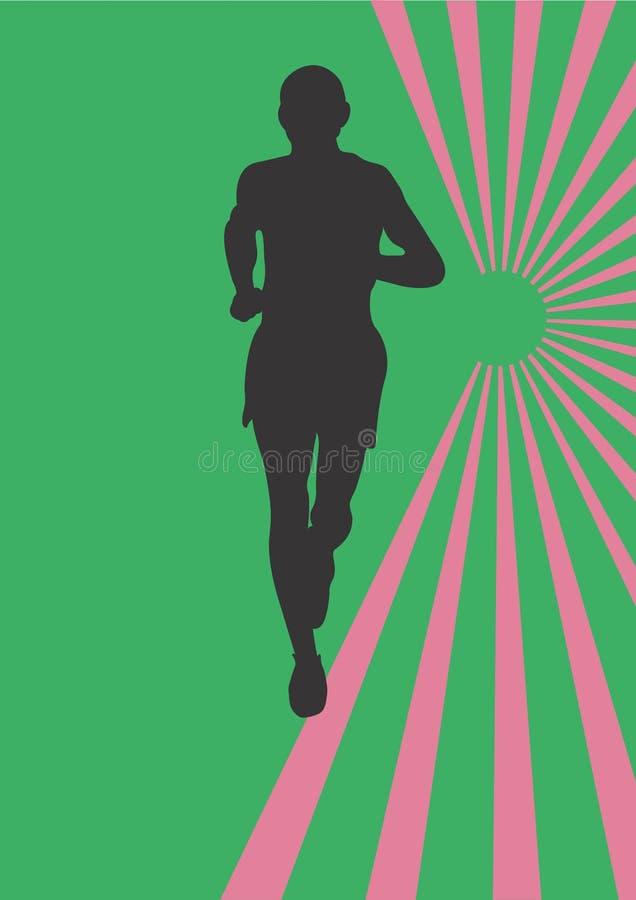 Download Jogger stock illustration. Illustration of sport, jogging - 404960