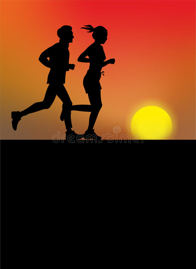 jogger στοκ εικόνες με δικαίωμα ελεύθερης χρήσης