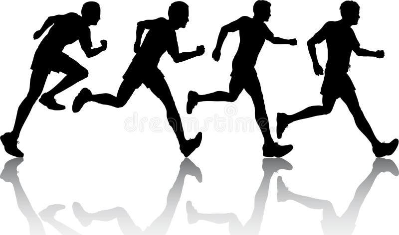 joggers мыжские иллюстрация штока