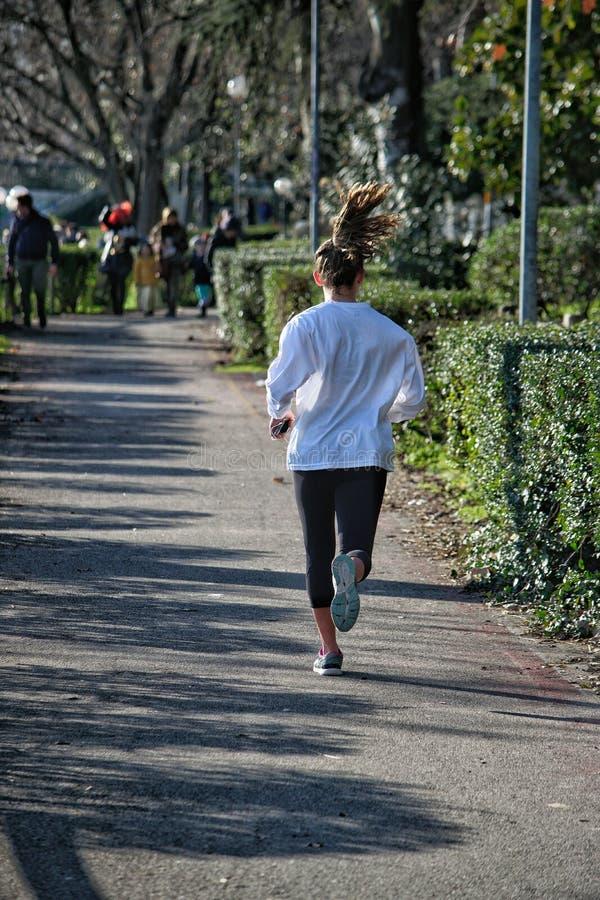 joggers fotografia stock