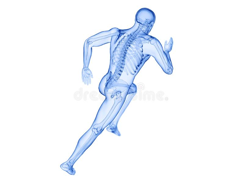 joggers zredukowani ilustracji