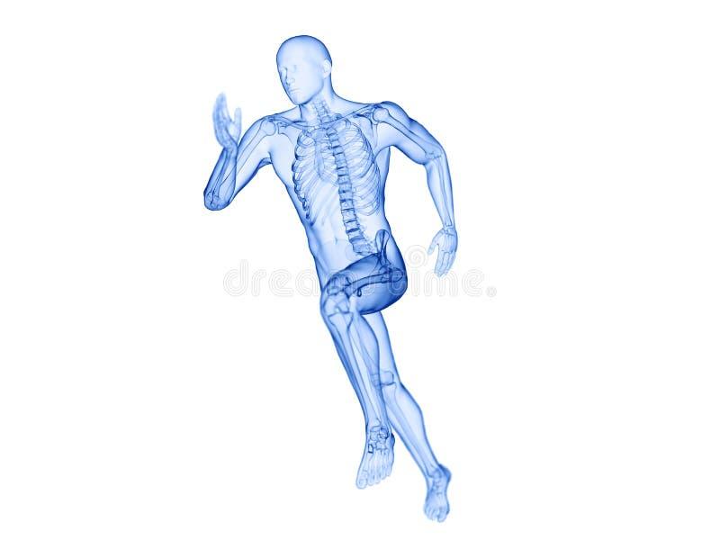 joggers zredukowani ilustracja wektor
